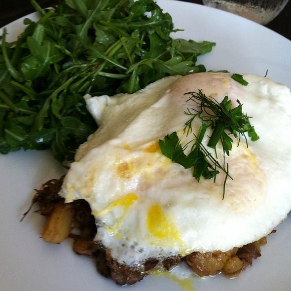 Short Rib Hash and Eggs - The Churchill, Los Angeles, CA