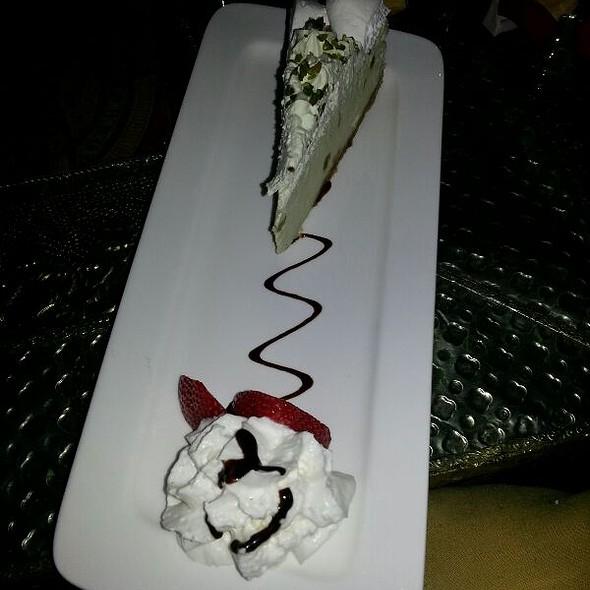 Pistachio Cheesecake - Tangierino, Charlestown, MA