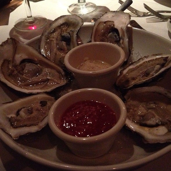 Oysters on the Half Shell - Pace's Steak House - Hauppauge, Hauppauge, NY