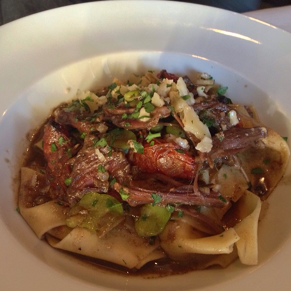 Short Rib Pappardelle - Terra Restaurant, Thornhill, ON