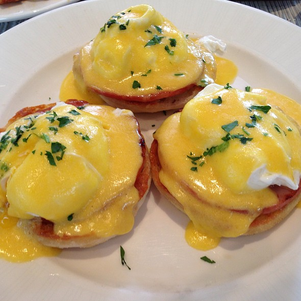 Eggs Benedict - Sea Porch Restaurant at The Don CeSar, St. Pete Beach, FL