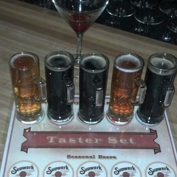 Seasonal Beer Sampler - Sudwerk, Davis, CA