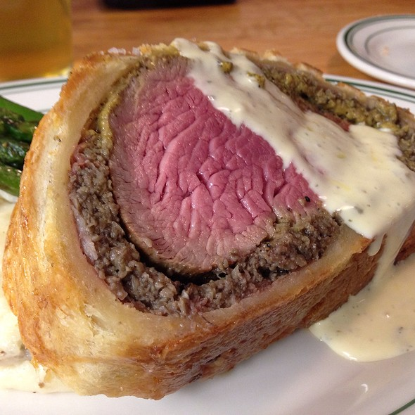 Beef Wellington With Bernaise - The Tavern, Tulsa, OK