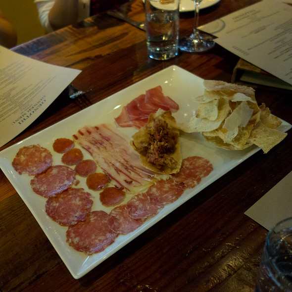 Salumi (Chef's Selection of 6) - Oenotri, Napa, CA