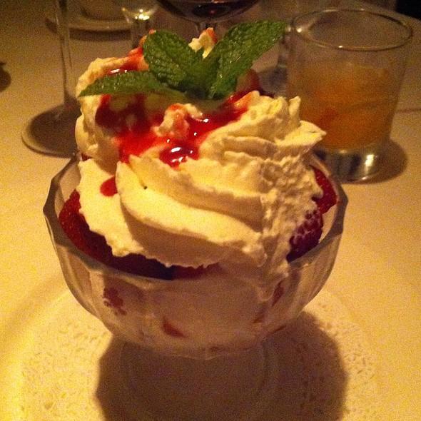 Chantilly Cream With Berries - Cadot Restaurant, Dallas, TX