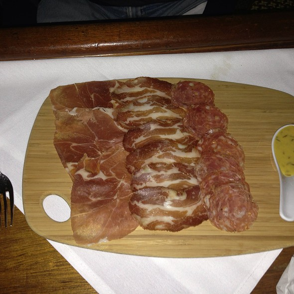 Charcuterie plate - red/bar brasserie, Southampton, NY