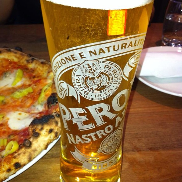 Peroni Beer - Novo Pizzeria & Wine Bar, Vancouver