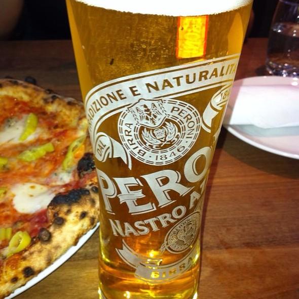 Peroni Beer - Novo Pizzeria & Wine Bar, Vancouver