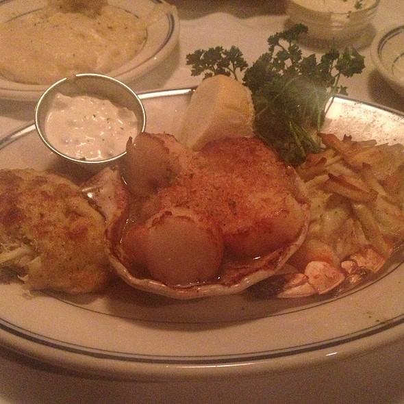 Broiled Seafood Platter - The Wharf, Alexandria, VA
