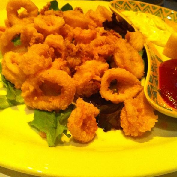 Calamari - Trapeze European Cuisine, Burlingame, CA
