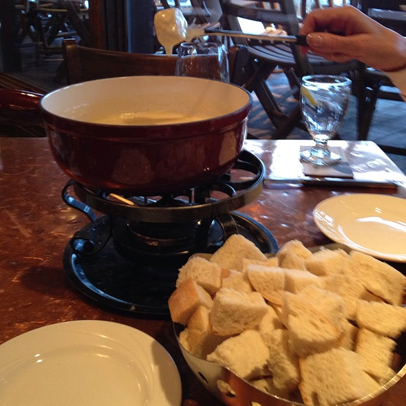 Fondue - The Glitretind Restaurant at Stein Eriksen Lodge, Park City, UT