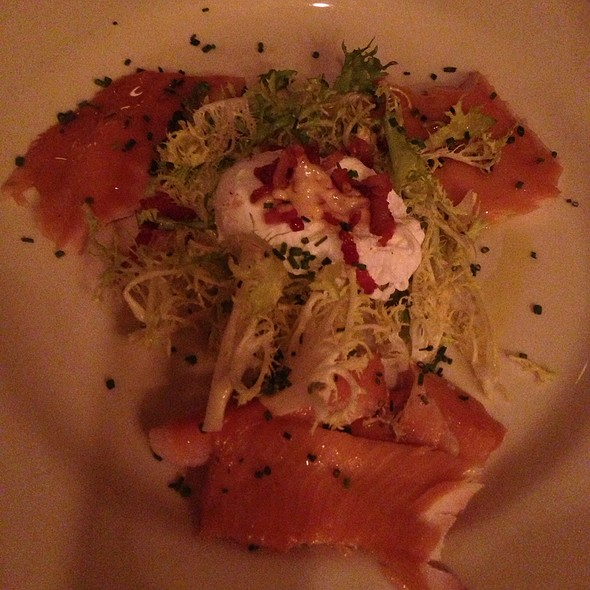 Smoked Trout Salad - South Park Cafe, San Francisco, CA