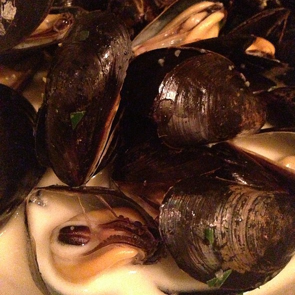 Mussels With Wine And Cream - South Park Cafe, San Francisco, CA