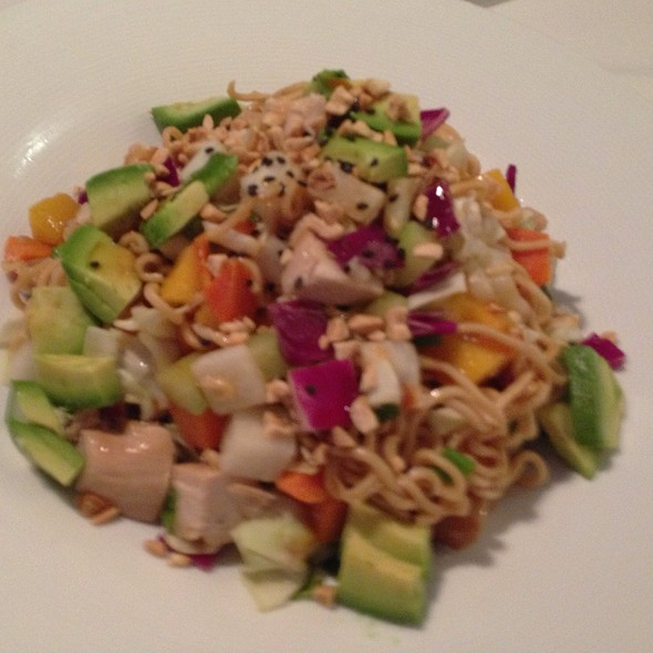 Oriental Chicken Salad - Cafe Ponte - Clearwater, Clearwater, FL