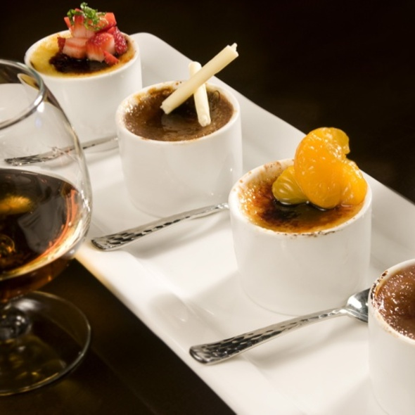 Creme Brulee Flight - WiseGuys Steak & Lounge, Hilton Head Island, SC