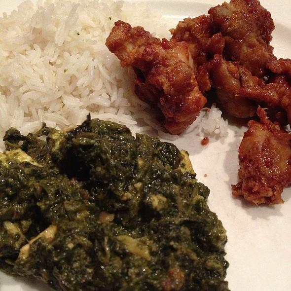 Palak Paneer - Nawab Indian Cuisine - Newport News, Newport News, VA