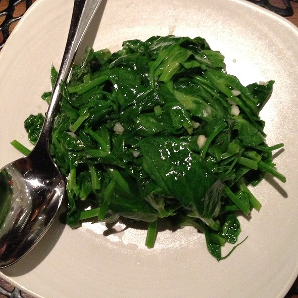 Pea Shoots - M.Y. China, San Francisco