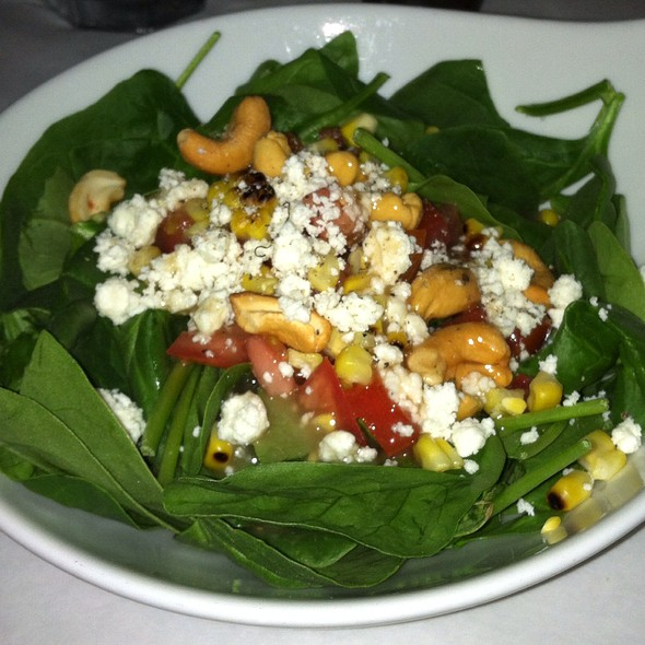 Spinach Salad - Pattigeorge's Restaurant, Longboat Key, FL