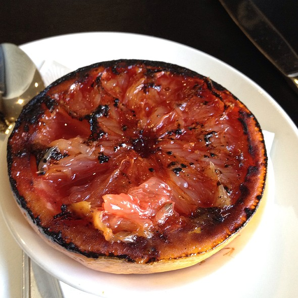 Grilled Grapefruit - dell'anima, New York, NY