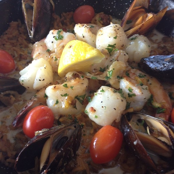 Seafood Paella - River City Brewing Company, Jacksonville, FL