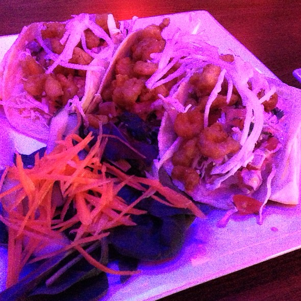 Thai Shrimp Taco - Crown Restaurant & Lounge, Palisades Park, NJ