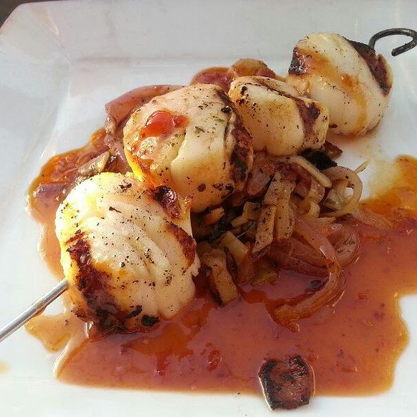 Grilled Scallop Skewer - Asado, Tacoma, WA
