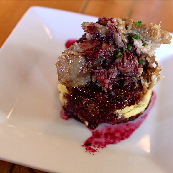 Blackberry Pork Belly - Lowcountry Bistro, Charleston, SC