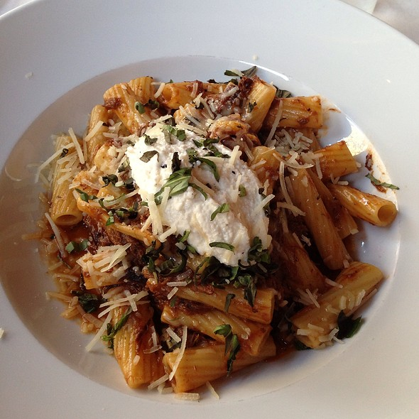 Short Rib & Oxtail Rigatoni Ragu - Match, Norwalk, CT
