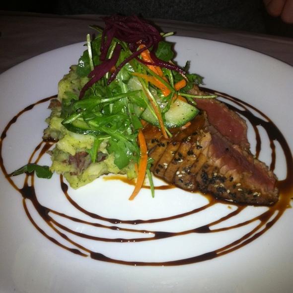 Seared Sesame Crusted Ahi Tuna - Rustic Kitchen, Boston, MA