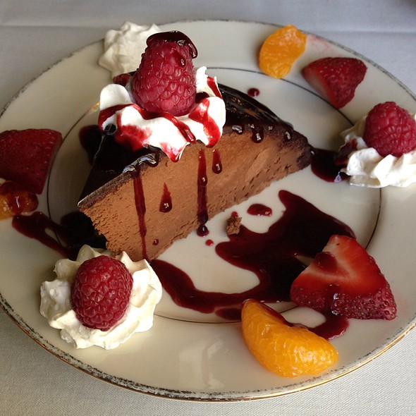 Chocolate Bombe - Melvyn's at the Ingleside Inn, Palm Springs, CA
