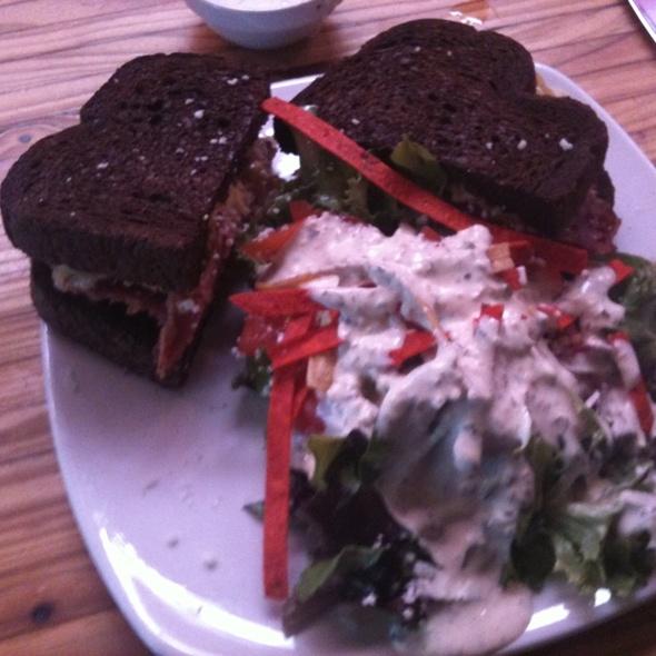 Reuben With House Salad - Cappy's Restaurant, San Antonio, TX