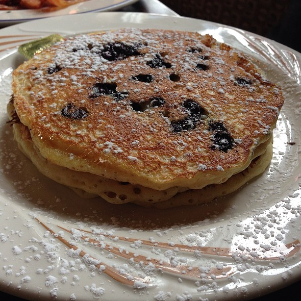 Blueberry Buttermilk Pancakes - Commissary DC, Washington, DC