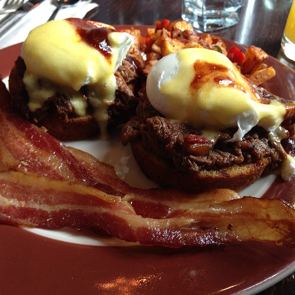 Short Rib & Cornbread Benedict - Commissary DC, Washington, DC