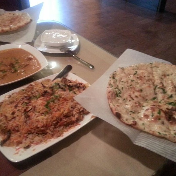 Lamb Biryani, Rogan Josh And Keema Naan - Zayaka Indian Cuisine, Raleigh, NC