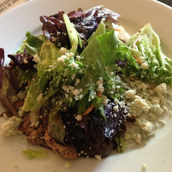 Field Greens With Dolce Gorgonzola And Horseradish Dressing - Waterzooi Belgian Bistro, Garden City, NY
