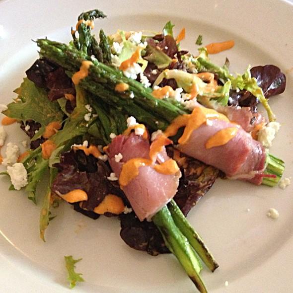 Asparagus With Crispy Belgian Ham - Waterzooi Belgian Bistro, Garden City, NY