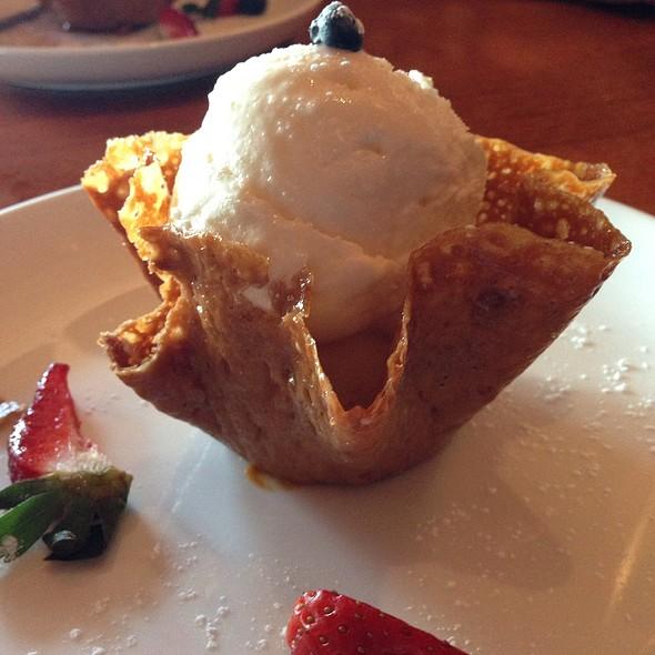 Coconut Ice Cream - Churrascos - River Oaks, Houston, TX