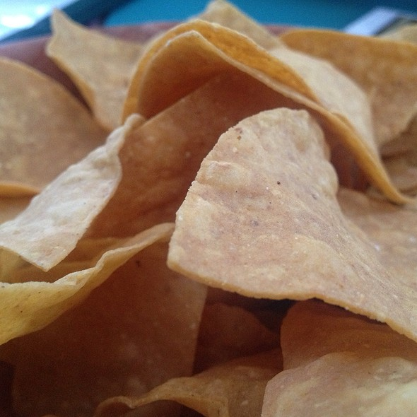 Tortilla Chips - Celia's Mexican Restaurant - Daly City, Daly City, CA