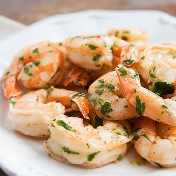 Shrimp Scampi - Isabella's, New York, NY