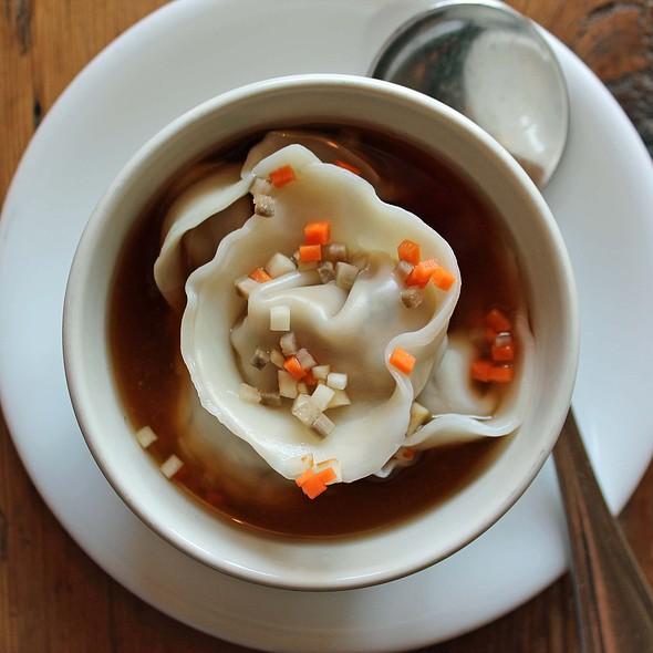 Kimchi Dumplings - Ha's Chinese, Astoria, NY