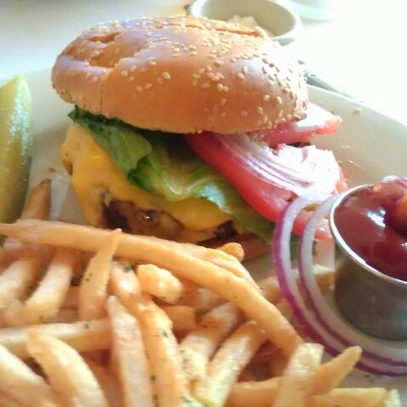 8 Oz. Angus Burger With Homemade Ketchup - Rosie's Bistro Italiano, Bronxville, NY