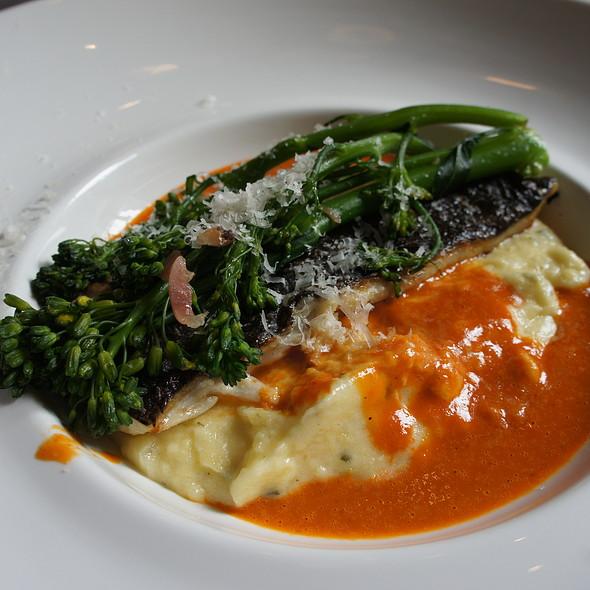 Grilled Seabass - Brasserie Française Chez Jules, Québec, QC