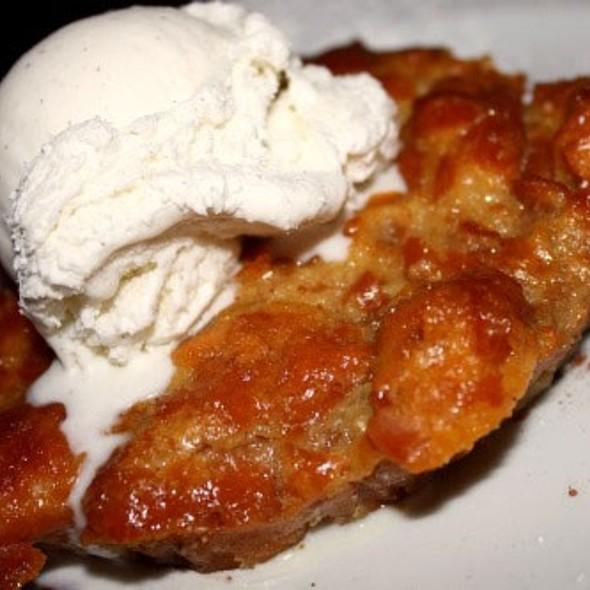 Krispy Kreme Bread Pudding - Dantanna's Surf and Turf, Atlanta, GA