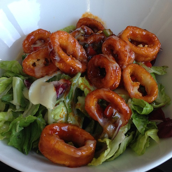 Calamari Salad - GAONNURI, New York, NY