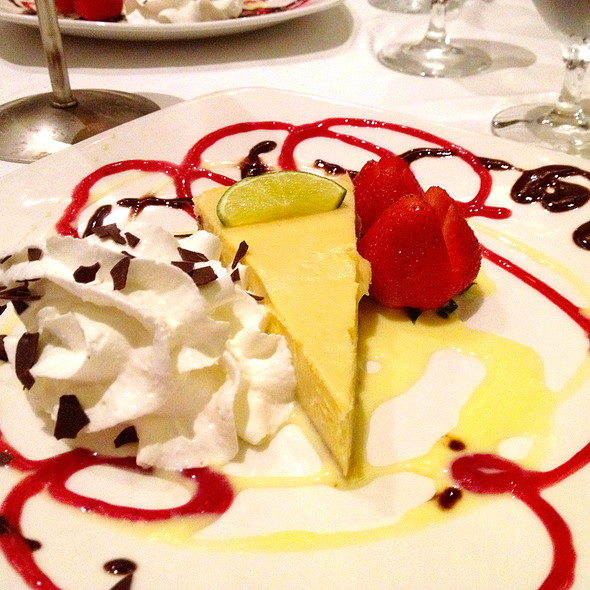 Key Lime Pie - Parker's Restaurant - Omni Parker House, Boston, MA