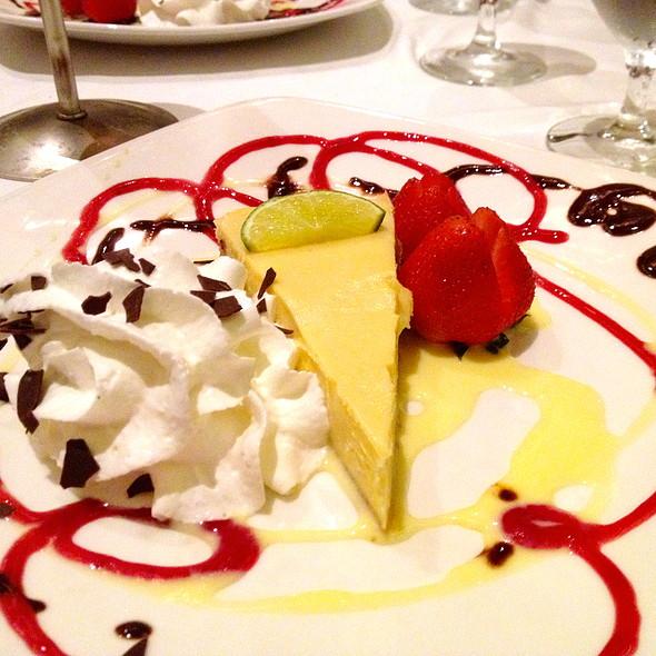 Key Lime Pie - Parker's Restaurant - Omni Parker House, Boston, MA
