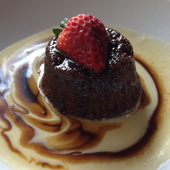 Sticky Toffee Pudding - Biga on the Banks, San Antonio, TX