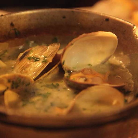 Clams in green sauce - Cafe Español, New York, NY