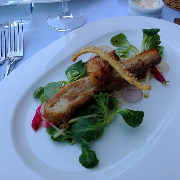 Pork Belly - Le Pont de la Tour Bar & Grill, London