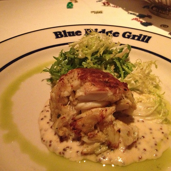 crabcake - Blue Ridge Grill, Atlanta, GA